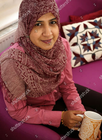 Editorial photo of Shelina Janmohamed at home in Pinner, London, Britain - 24 Dec 2009