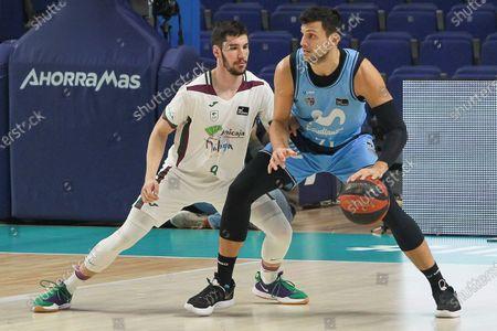 Editorial picture of Estudiantes Movistar v Unicaja, Spanish basketball league, Wizink Center stadium, Madrid, Spain - 22 Nov 2020