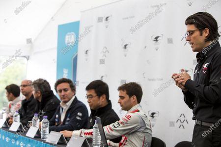 2015/2016 FIA Formula E Championship. London ePrix, Battersea Park, London, United Kingdom. Friday 1 July 2016. Dragon Racing and Faraday Future press conference, Jay Penske, Dragon Racing. Photo: Zak Mauger/LAT/Formula E