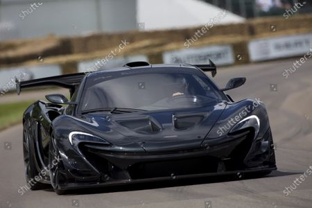 Stock Picture of 2016 Goodwood Festival of Speed Goodwood Estate, West Sussex, England. 23rd - 26th June 2016. Kenny Brack McLaren P1 LM World Copyright : Al Staley / LAT Photographic Ref : 585A0786