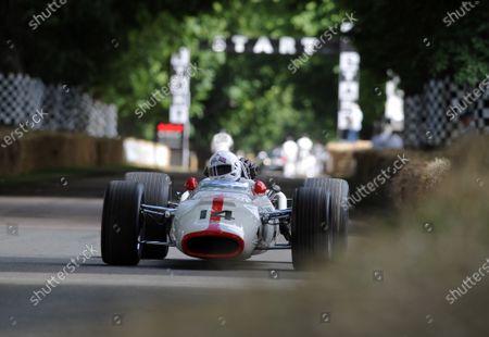 2016 Goodwood Festival of Speed Goodwood Estate, West Sussex,England 23rd - 26th June 2016 Stuart Graham Honda F1 World Copyright : Jeff Bloxham/LAT Photographic Ref : Digital Image
