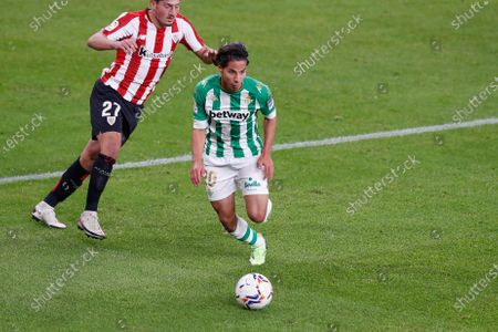 "Diego Lainez (Betis) - Football / Soccer : Spanish ""La Liga Santander"" match between Athletic Club de Bilbao 4-0 Real Betis at the Estadio San Mames in Bilbao, Spain."