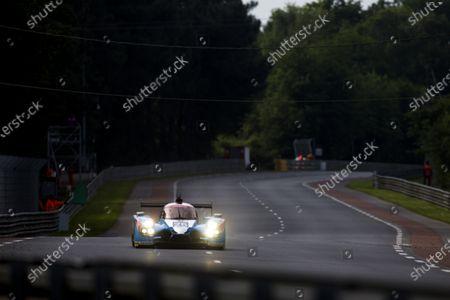 Stock Photo of 2016 Le Mans 24 Hours. Circuit de la Sarthe, Le Mans, France. Sunday 19 June 2016. Algarve Pro Racing / Ligier JS P2 - Nissan - Michael Munemann (GBR), Christopher Hoy (GBR), Andrea Pizzitola (FRA).  World Copyright: Zak Mauger/LAT Photographic