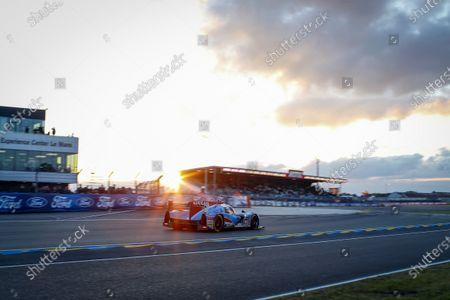 Stock Image of 2016 Le Mans 24 Hours. Circuit de la Sarthe, Le Mans, France. Algarve Pro Racing / Ligier JS P2 - Nissan - Michael Munemann (GBR), Christopher Hoy (GBR), Andrea Pizzitola (FRA).  Saturday 18 June 2016 Photo: Adam Warner / LAT