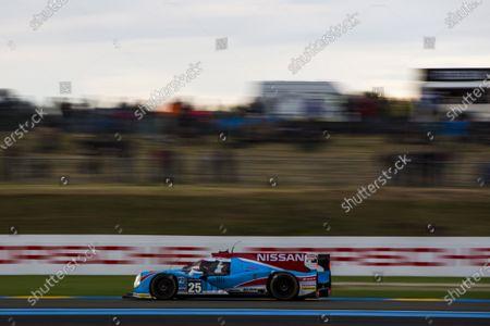 2016 Le Mans 24 Hours. Circuit de la Sarthe, Le Mans, France. Thursday 16 June 2016. Algarve Pro Racing / Ligier JS P2 - Nissan - Michael Munemann (GBR), Christopher Hoy (GBR), Andrea Pizzitola (FRA).  World Copyright: Zak Mauger/LAT Photographic
