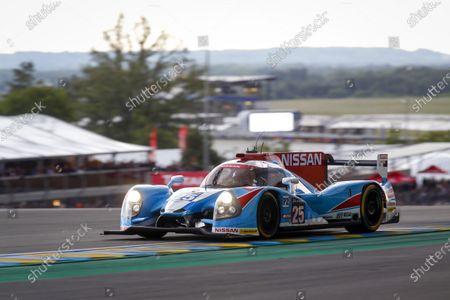 2016 Le Mans 24 Hours. Circuit de la Sarthe, Le Mans, France. Algarve Pro Racing / Ligier JS P2 - Nissan - Michael Munemann (GBR), Christopher Hoy (GBR), Andrea Pizzitola (FRA).  Thursday 16 June 2016 Photo: Adam Warner / LAT