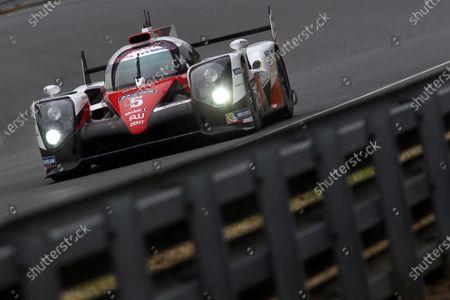 Editorial picture of WEC, 2016 Le Mans 24 Hours Test Day, Circuit de la Sarthe, France - 05 Jun 2016