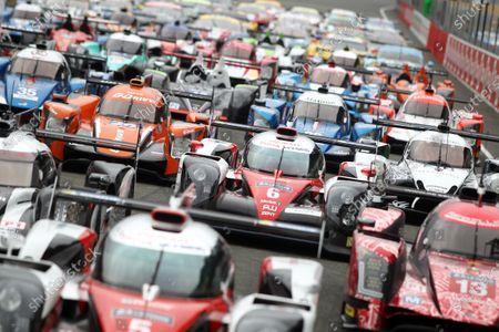 2016 Le Mans 24 Hours Test day, Le Mans, France. 5th June 2016. Stephane Sarrazin / Mike Conway / Kamui Kobayashi / Alexander Wurz - Toyota Gazoo Racing Toyota TS050 Hybrid. World Copyright: Ebrey / LAT Photographic.