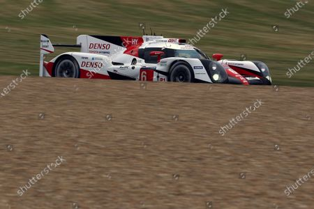 Stock Picture of 2016 Le Mans 24 Hours Test day, Le Mans, France. 5th June 2016. Stephane Sarrazin / Mike Conway / Kamui Kobayashi / Alexander Wurz - Toyota Gazoo Racing Toyota TS050 Hybrid. World Copyright: Ebrey / LAT Photographic.
