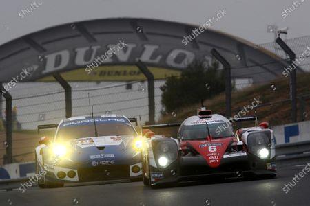 Editorial image of WEC, 2016 Le Mans 24 Hours Test Day, Circuit de la Sarthe, France - 05 Jun 2016
