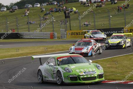 2016 Porsche Carrera Cup GB,  Oulton Park, Cheshire. 4th-5th June 2016, Mark Radcliffe (GBR) Intersport Porsche Carrea Cup  World copyright. Jakob Ebrey/LAT Photographic
