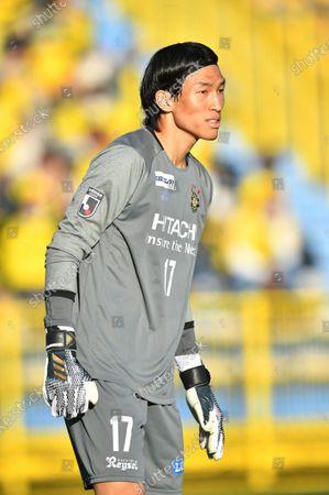 Kashiwa Reysol's Kim Seung-Gyu during the 2020 J.LEAGUE J1 soccer match between Kashiwa Reysol 1-2 Sagan Tosu at Sankyo Frontier Kashiwa Stadium in Chiba, Japan.