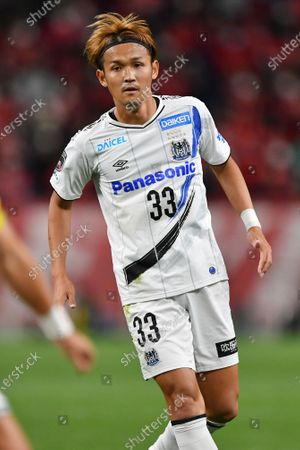 Gamba Osaka's Takashi Usami during the 2020 J.LEAGUE J1 soccer match between Urawa Red Diamonds 1-2 Gamba Osaka at Saitama Stadium 2002 in Saitama, Japan.