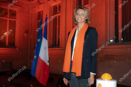 Editorial image of Lighting ceremony at the Hotel de Beauvau, Paris, France - 23 Nov 2020