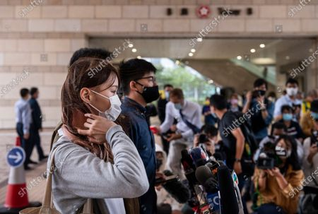 Editorial photo of PRO-DEMOCRACY ACTIVISTS APPEAR IN COURT IN HONG KONG, CHINA - 23 NOV 2020