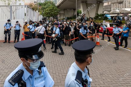 Editorial image of PRO-DEMOCRACY ACTIVISTS APPEAR IN COURT IN HONG KONG, CHINA - 23 NOV 2020