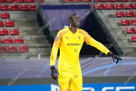 Stock Picture of Alfred Gomis of Rennes