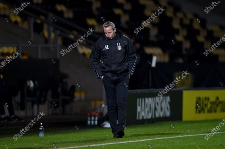 Stock Picture of Lee Bowyer manager of Charlton Athletic.