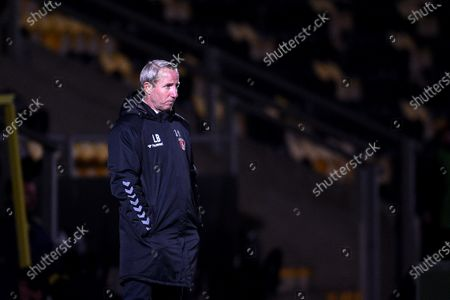 Lee Bowyer manager of Charlton Athletic.