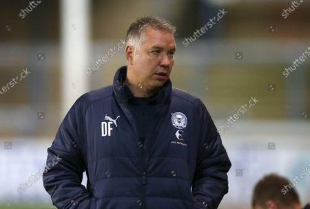 Stock Photo of Peterborough manager Darren Ferguson