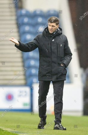 Steven Gerrard manager of Rangers