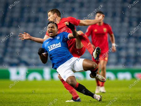 Editorial image of Rangers v Benfica, UEFA Europa League, Group D, Football, Ibrox Stadium, Glasgow, UK - 26 Nov 2020