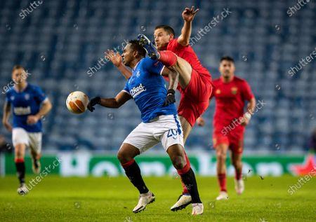 Editorial photo of Rangers v Benfica, UEFA Europa League, Group D, Football, Ibrox Stadium, Glasgow, UK - 26 Nov 2020