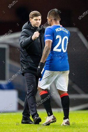 Editorial photo of Rangers v Benfica, UEFA Europa League, Group D, Football, Ibrox Stadium, Glasgow, UK - 26 Nov 2020