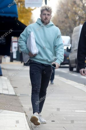 Editorial picture of Sam Thompson out and about, London, UK - 24 Nov 2020