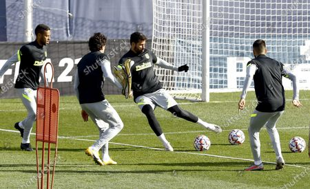 Editorial image of Atletico Madrid training, Spain - 24 Nov 2020
