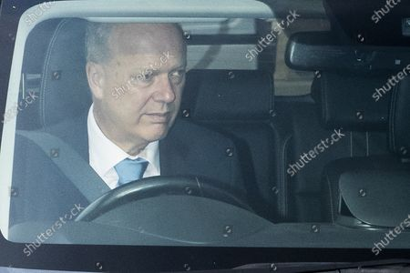 Former Secretary of State for Transport Chris Grayling arrives at The Houses of Parliament .