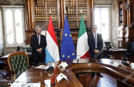 Editorial photo of Di Maio meets Asselborn, Rome, Italy - 24 Nov 2020
