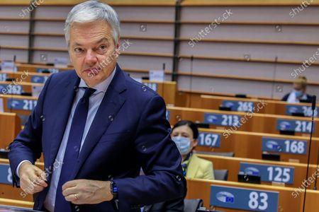 Editorial picture of EU Parliament, Brussels, Belgium - 24 Nov 2020