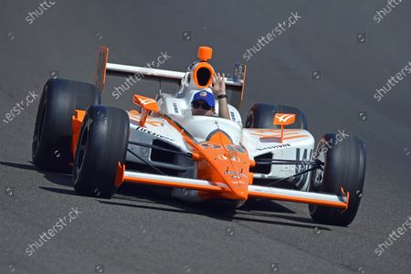 29 May, 2016, Indianapolis, Indiana, USA Bryan Herta in the 2011 race winning car he owned and driven by the late Dan Wheldon. ?2016, F. Peirce Williams LAT Photo USA