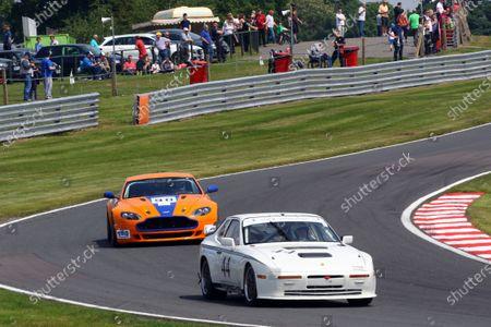 2016 Aston Martin GT Challenge / AMOC Intermarque, Oulton Park, Cheshire. 28th May 2016, Bob Searles / Tony Jardine Porsche 944 Turbo  World copyright. Ebrey/LAT Photograhic