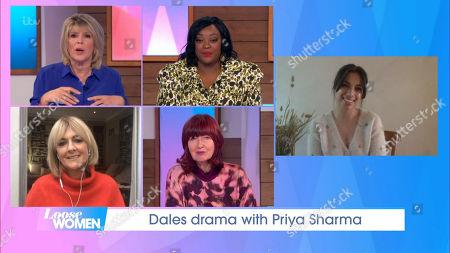 Ruth Langsford, Judi Love, Jane Moore, Janet Street-Porter, Fiona Wade