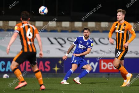 Luke Chambers of Ipswich Town - Ipswich Town v Hull City, Sky Bet League One, Portman Road, Ipswich, UK - 24th November 2020Editorial Use Only - DataCo restrictions apply