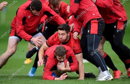 Editorial picture of Wales Rugby Training - 24 Nov 2020