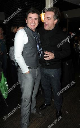 Shane Richie with Kenton Allen
