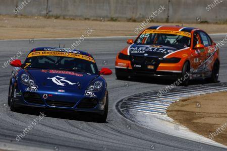29-30 April, 2016, Monterey, California USA 7, Porsche, Cayman GT4, ST, Sam Adams, Tyler Stone ?2016, Jake Galstad LAT Photo USA