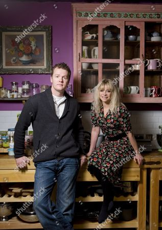 Chef Arthur Potts-Dawson and Jo Wood