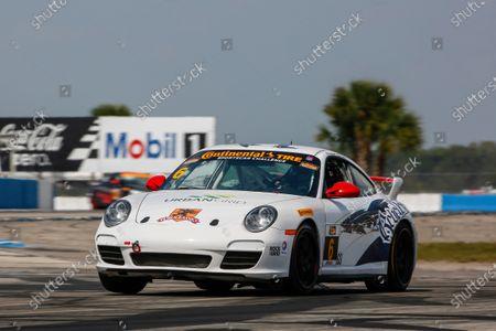 Stock Photo of 16-18 March, 2016, Sebring, Florida, USA 6, Porsche, 997, GS, Frank Depew, Jim Jonsin ?2016, Jake Galstad LAT Photo USA