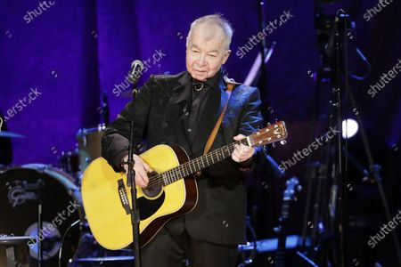 """John Prine performs at the Americana Honors & Awards show in Nashville, Tenn. The icon earned two posthumous Grammy nominations, including best American Roots performance and best American Roots song for """"I Remember Everything."""" Prine died April 7, 2020, from complications of the coronavirus. He was 73"""
