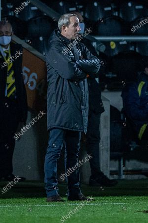 Charlton Athletic manager Lee Bowyer during the EFL Sky Bet League 1 match between Burton Albion and Charlton Athletic at the Pirelli Stadium, Burton upon Trent