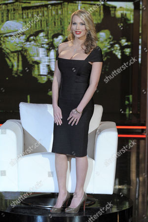Editorial photo of 'Chiambretti Night' TV programme, Milan, Italy - 29 Jan 2010