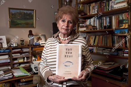Editorial picture of Zdenka Fantlova, Holocaust survivor and author of 'The Tin Ring', Weybridge, Britain - 21 Jan 2010