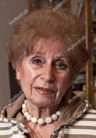 Editorial image of Zdenka Fantlova, Holocaust survivor and author of 'The Tin Ring', Weybridge, Britain - 21 Jan 2010