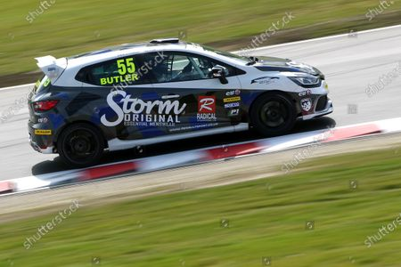 2016 Renault Clio Cup, Brands Hatch, 2nd-3rd April 2016, Tom Butler (GBR) 20Ten Racing Renault Clio Cup  World copyright. Jakob Ebrey/LAT photographic