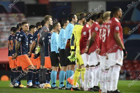 Editorial photo of Manchester United vs Istanbul Basaksehir, United Kingdom - 24 Nov 2020