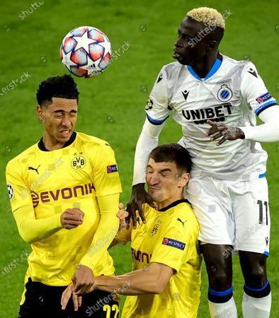 Editorial image of Borussia Dortmund vs Club Brugge, Germany - 24 Nov 2020